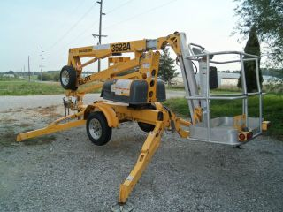 37 Boom Lift 22 Outreach Forestery Trimmer Bucket Truck