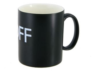 Heat color temperature Changing ON / OFF Ceramic Coffee Mug Cup