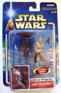Star Wars Saga ESB Luke Skywalker Bespin Duel RARE