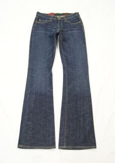 AG Adriano Goldschmied Dark The Angel Boot Cut Stretch Jeans Size 26