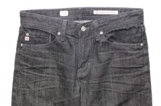 New AG Adriano Goldschmied Protege Straight Leg Jeans in 1 Year Black