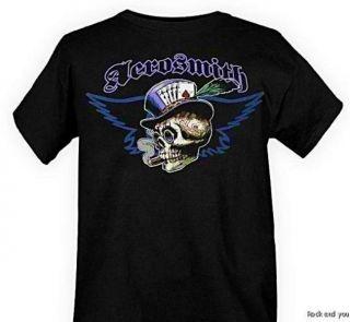 Aerosmith Skull Vintage Rock T Shirt M NWT