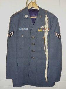 USAF United States Air Force Dress Uniform Vietnam Era 2 Jackets Pants