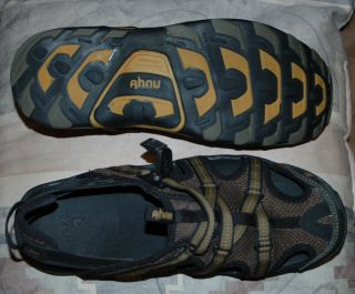 Mens AHNU Sport Sandals size 10 GREAT DEAL Hiking Watersports Athletic