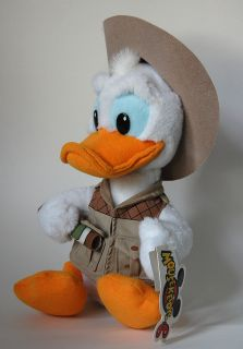 Mousketoys SAFARI DONALD DUCK Adventure plush stuffed toy   Disney