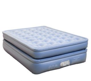 AeroBed Aero Bed Deluxe Raised Queen with Auto Shut off Pump
