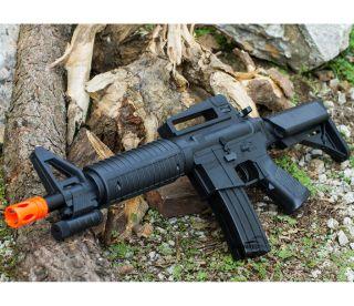 M16 TACTICAL ASSAULT SPRING AIRSOFT RIFLE PELLET SNIPER GUN 6mm BB AIR