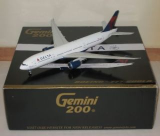 200 Gemini DELTA AIRLINES Boeing 777 200 1st Release The Delta