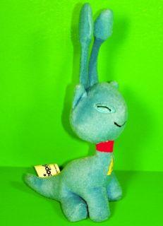 AISHA * Neopets BLUE Cat Kitten Plush 2004 McDonalds McD 5 Toy