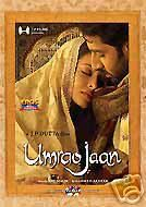 Umrao Jaan Aishwarya Rai Indian Hindi DVD Movie