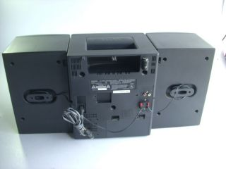 aiwa ca dw600u bookshelf portable stereo system this unit is used in