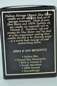 nubian heritage butter candle african black soap