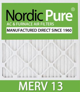 16x20x4 Merv 13 Air Conditioner Furnace Filters Qty 2
