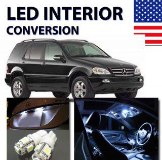 Agt™ Xenon White Interior LED Package Kit for Mercedes ml W163 2000