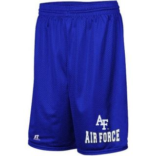 Russell Air Force Falcons Arch Logo Mesh Shorts Royal Blue