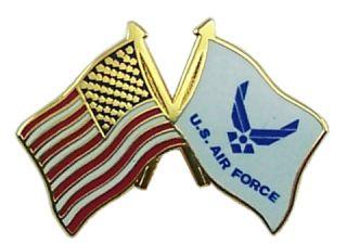 Pin Air Force Flag American Flag Pin US Air Force USA Flags Pin 14320