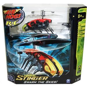 Air Hogs R C Havoc Helicopter Stinger Red New Ships Worldwide