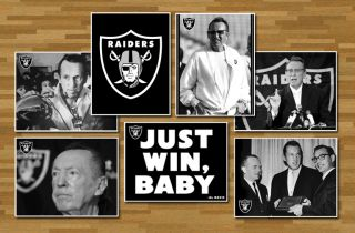 Al Davis Rip Memorial Oakland Raiders Tribute Motivational Poster