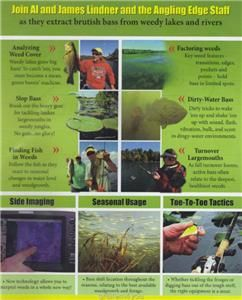 lindner bass fishing the weed factor dvd new