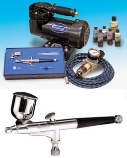 action airbrushing kit airbrush compressor eastwood part number 12570