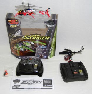 AIR HOGS HAVOC HELICOPTER Turbo Blaster & Stinger w/ Controls   PARTS