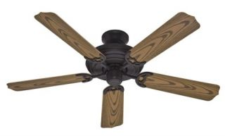 Hunter Sea Air 52 Ceiling Fan Model 23568 in Weathered Bronze with