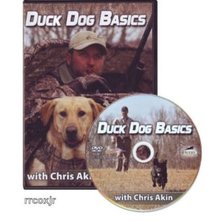 Avery Chris Akin Duck Dog Basics Retriever Training DVD