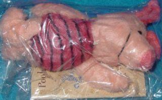 Disney Tokyo 1998 Furry Piglet Plush Bean Bag 5 MWMT