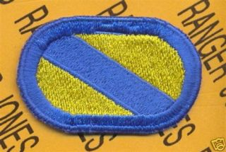 51st Inf LRS Airborne Ranger Para Oval Patch