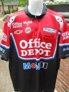 Tony Stewart Office Depot Race Day Pit Crew Shirt Size XL