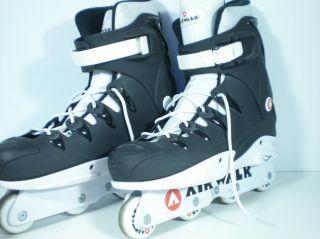 Airwalk Inline Skates Roller Skating Blades Men Size 11 Black White