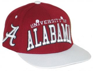 Alabama Crimson Tide Bama Maroon Super Star Snapback Adjustable Hat
