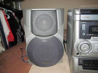 Aiwa CX NA555 Bookshelf Stereo System Excellent