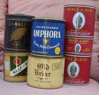 Vintage Tobacco Tins Prince Albert Granger Tobacciana