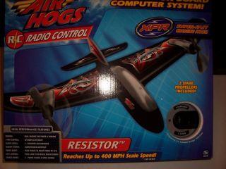 HTF FAST NEW AIR HOGS RADIO CONTROL RESISTOR AIRPLANE RC PLANE w