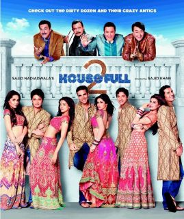 Housefull 2 Hindi Bollywood DVD Akshay Kumar John Abraham