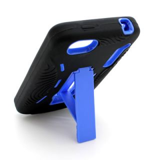 Blue Black Skin Cover Case Alcatel One Touch 960C Authority
