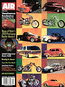 Airbrush Action Magazine March April 2003