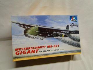 Me 321 Gigant German Glider Aircraft Plane Model Kit
