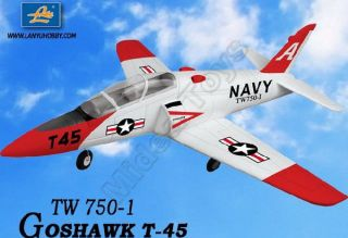 4GHz Radio Control US Navy T 45 Goshawk EDF Fighter Jet Brushless