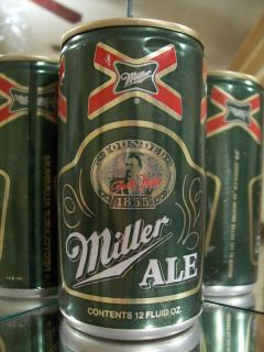 Miller Ale Old Beer Can Alum 94 9 B Contents Bottom