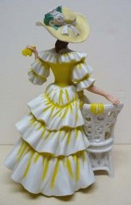 1990 mrs albee avon figurine excellent condition