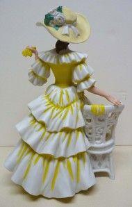 1990 mrs albee avon figurine excellent condition