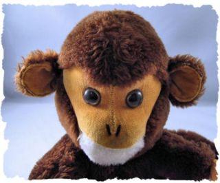 Vintage 1973 R Dakin Co Monkey Stuffed Plush Doll