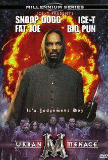 Urban Menace Video 1999 Movie Poster Original Snoop Dogg Big Pun Ice T