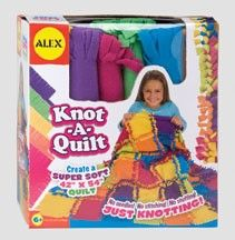 alex toys knot a quilt craft kit