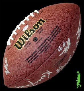 2012 San Francisco 49ers Team Signed Wilson NFL Football Logo COA