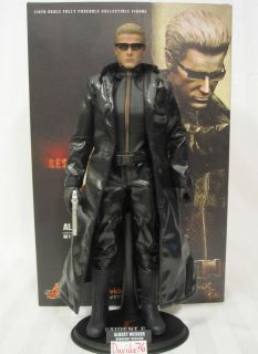 Hot Toys VGM08 ALBERT WESKER MIDNIGHT Version Resident Evil 1 6 Figure