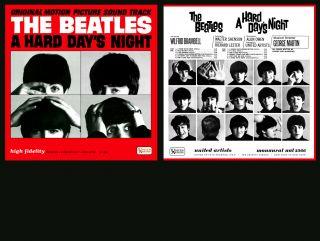Beatles Alternate A Hard Days Night Album Cover Mono SEALED