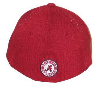 Alabama Crimson Tide Trainer Flex Fit Hat Cap L XL New